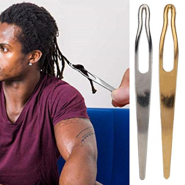 2Pcs Dreadlocks Hair Pulling Extension Crochet Hook Needle Tools for Wig Dreadlock Braiding Hair Extensions Accessories Tools