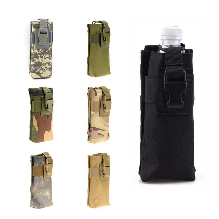 Outdoor Multi-functional Pitcher Pannier Bag Molle Tactical Interphone Package Army Fans Outdoor Sports Camouflage Accessory Kit