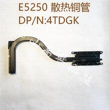 Новинка, оригинальный радиатор охлаждения вентилятора для Dell Latitude E5250, модель 4TDGK 04TDGK