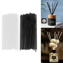 50Pcs/set 20cmx4mm Fiber Sticks Diffuser Aromatherapy Volatile Rod for Home Fragrance Diffuser Home Decoration