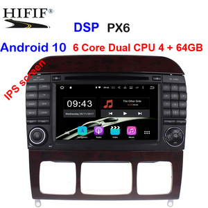 Image 1 - Android 10 7 นิ้วเครื่องเล่นวิทยุสำหรับรถยนต์ Mercedes Benz/S320/S350/S400/S500/w220/W215/C S Class 4G RAM 3G/4G WIFI วิทยุ GPS