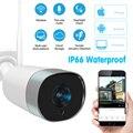 Новая наружная ip-камера 4MP Wifi HD 2,4G с защитой от атмосферных воздействий, двусторонняя аудиокамера ночного видения, беспроводная камера безо...