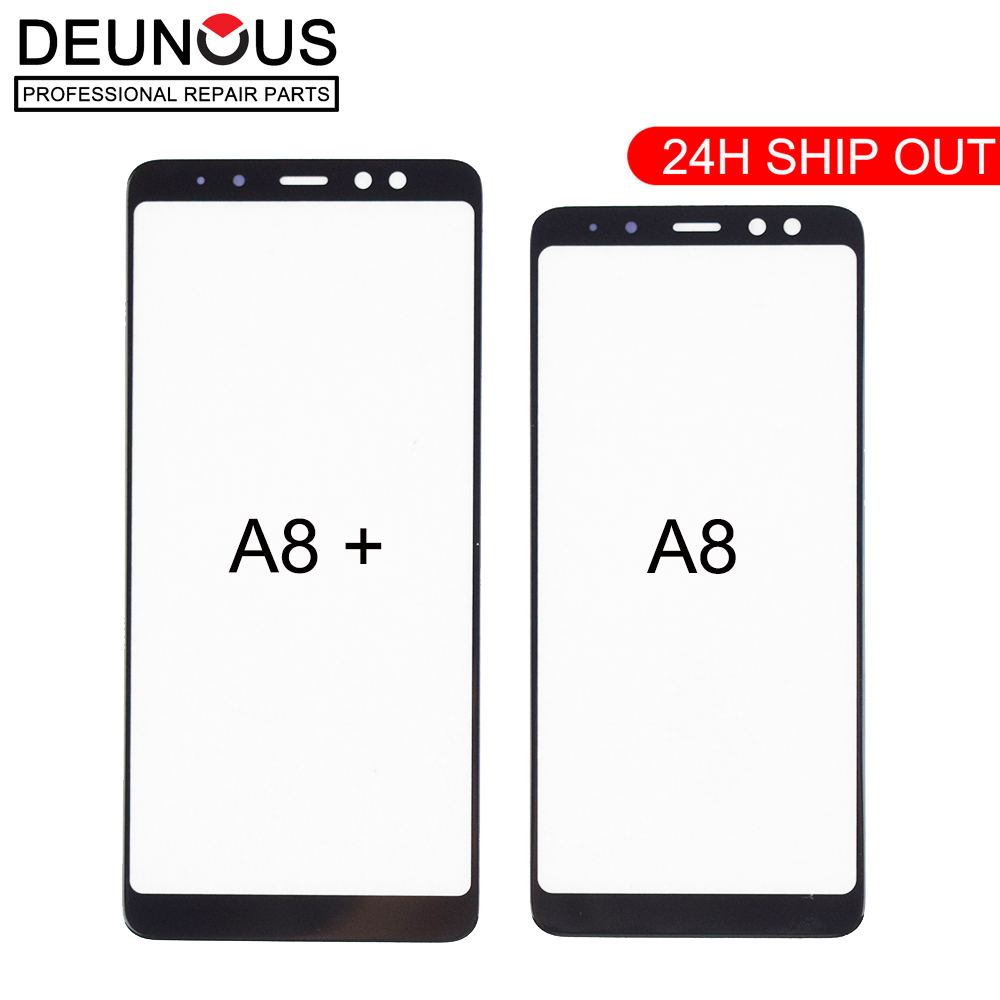 Replacement Front Touch Screen Panel Glass Outer Lens For Samsung Galaxy A8+ A8 Plus 2018 A730 A730F A730DS A8 2018 10pcs/lot