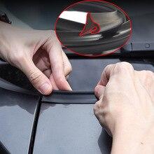 1,8 м герметик для окна автомобиля, резиновый протектор, уплотнительная лента, обшивка, лобовое стекло, спойлер для универсального автомобиля, внешний аксессуар