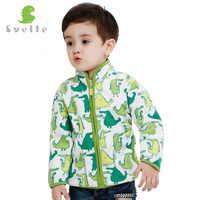 SVELTE printemps automne hiver enfants manteaux de fourrure chauds garçons vestes mode épais vêtement d'extérieur en polaire Enfant vêtements