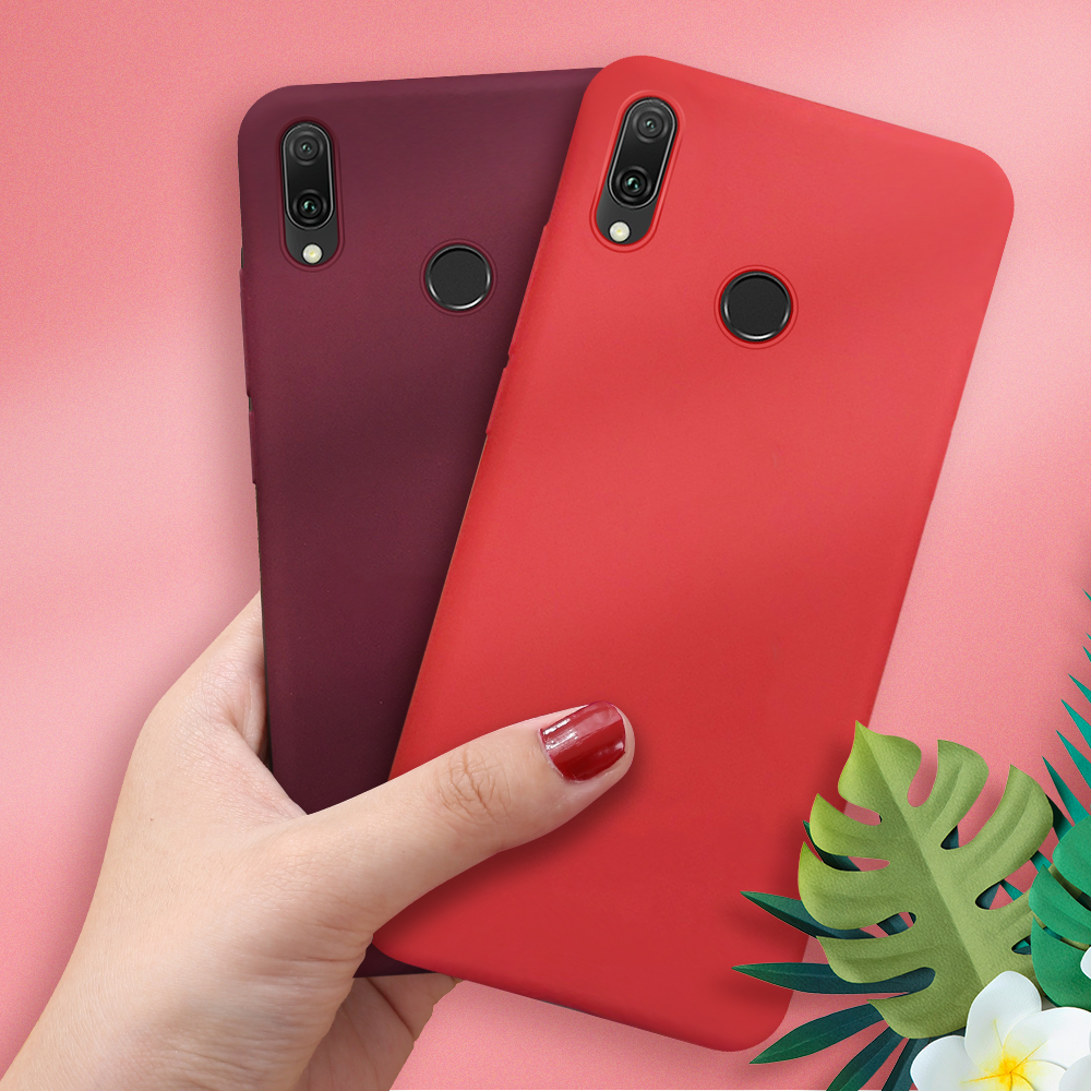 Soft TPU Silicone <font><b>Cover</b></font> For <font><b>Honor</b></font> <font><b>8X</b></font> 9 10 20 Mate 20 10 Lite Fundas Capas Candy Colorful Phone Cases For Huawei P10 P20 P30 Pro image