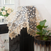 Fabric Lace Dust cover Drinking fountain cover Tea bar machine cover Kitchen Appliance Coffee maker Dust cover towel