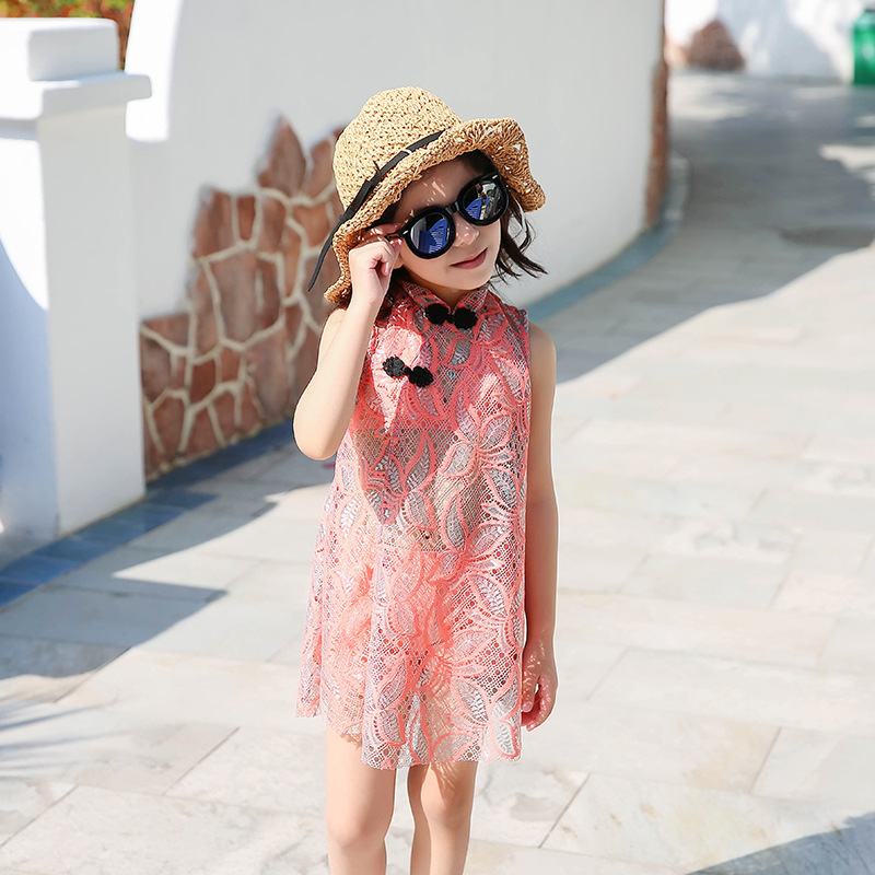 New Style KID'S Swimwear Girls Split Type Cartoon Cute Princess Dress-Bathing Suit Big Boy GIRL'S Baby Swimwear