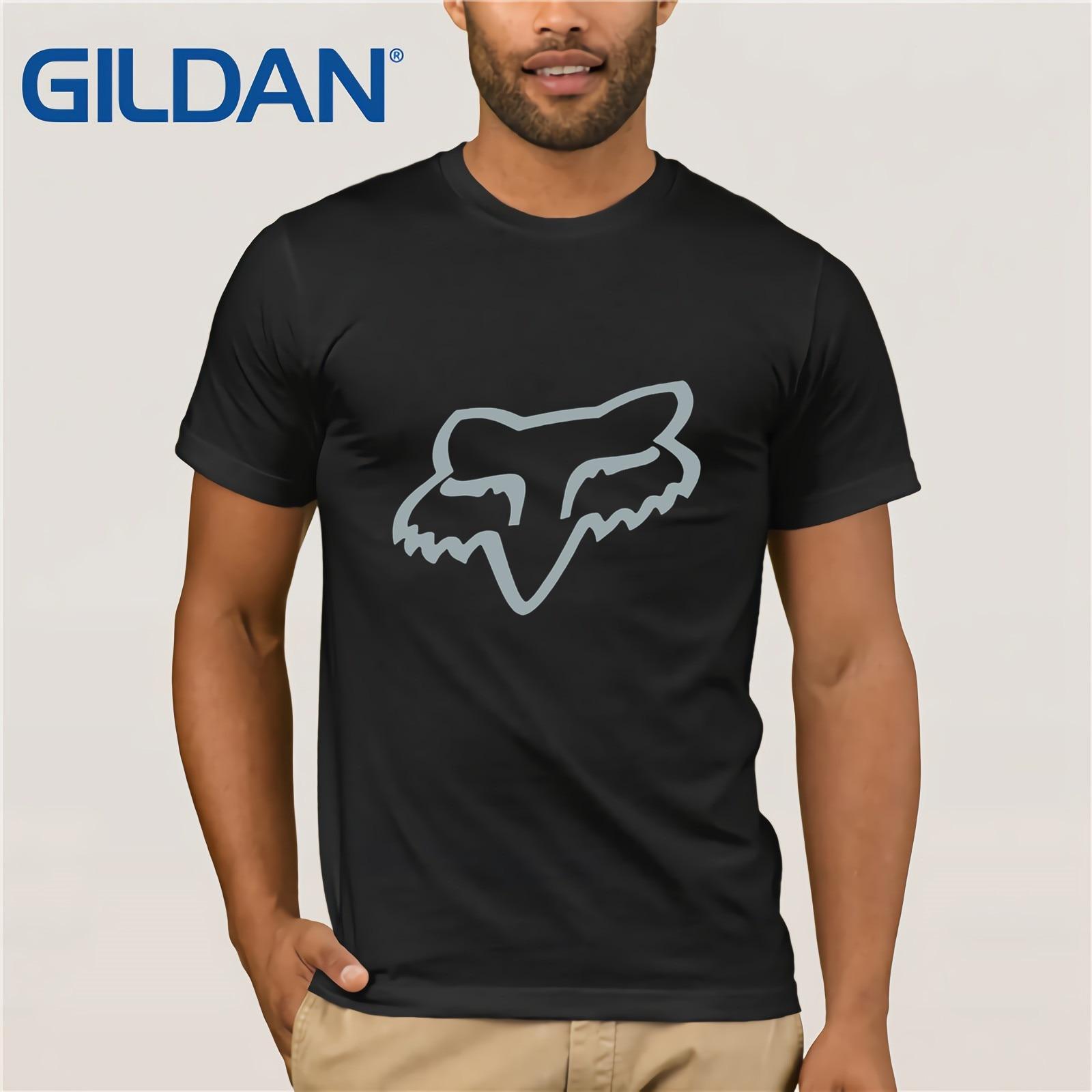 Fox Mtb Ranger Cntr Mens T-shirt - Black All Sizes Mens 2018 Fashion Brand T Shirt O-Neck 100%cotton T-Shirt Tops Tee Custom