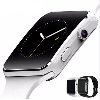 New X6 Smart Watch with Camera Touch Screen Support SIM TF Card Bluetooth Smartwatch Men Women For iPhone Xiaomi Android IOS 2016 new smart watch x5 with 1 4 amoled display 400 x 400 3g wifi gps dual bluetooth smartwatch for iphone sumsung xiaomi