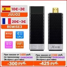 X96S Tv Stick Android 9.0 Smart Tv Box 4Gb 32Gb Amlogic S905Y2 Tvbox Dual Wifi 4K BT4.2 1080P H.265 4K 60pfs X96 S 2Gb 16Gb