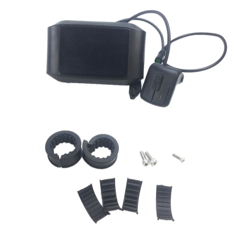 750C LCD Ebike Display IPS Colour Screen Mid Motor Kit for Bafang BBS01 BBS02 BBSHD