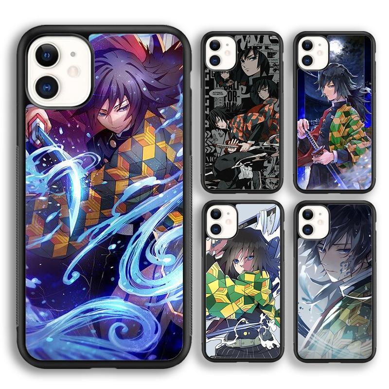 Чехол krajew Tomioka Giyuu для телефона с изображением рассекающего демонов, для iPhone 5s 6s 7 8 plus X XR XS 11 12 pro max Samsung Galaxy S8 S9 S10