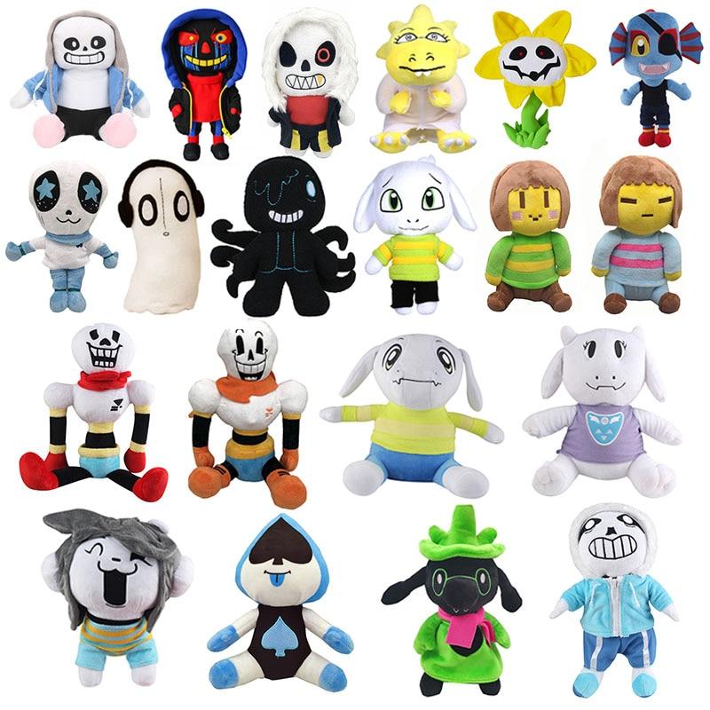 Undertale Plush Toy Anime Doll Undertale Sans Toriel Animal Plush Toy Soft Plush Stuffed Doll Children Best Birthday Gifts