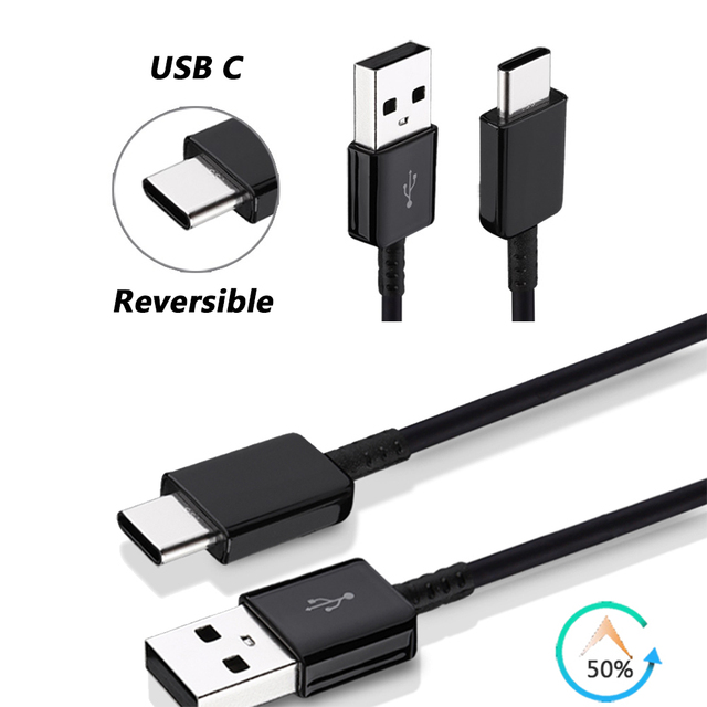 Original For Samsung Feel 2 A51 A50 A70 A20 A91 S8 S9 A71 A10 A11 USB Cable 3A 2M Data fast charging cord for note 20 ultra 9 8