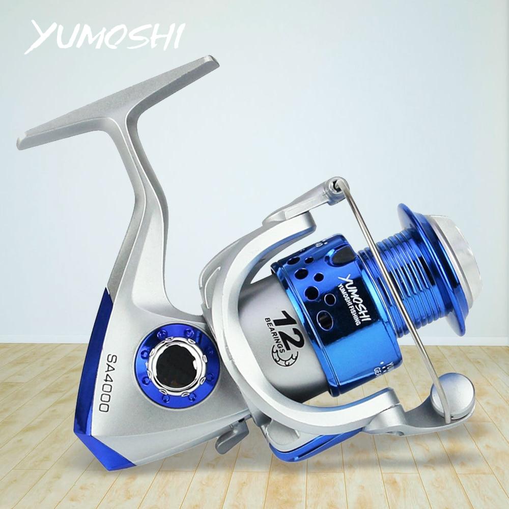 Carrete SA1000-7000 Spinning Fishing Wheel Fishing Coil Full Meta Left/Right Hand Cheap Fishing Reel Parts