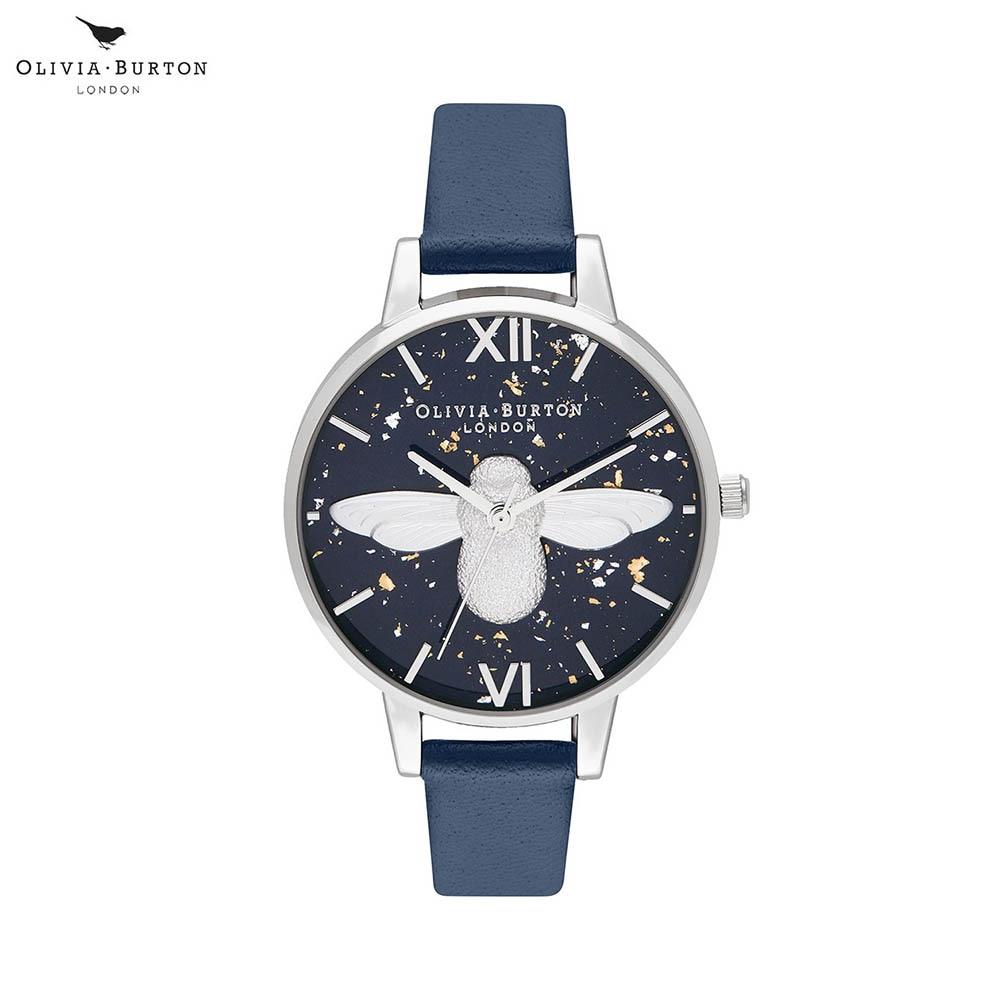 Наручные часы Olivia Burton OB16GD04 женские кварцевые на кожаном ремешке