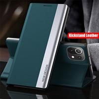 Flip Cover in pelle magnetica per Xiaomi Mi 11 10 10T Pro Lite Redmi Note 10 9 8 Poco 9s 10s F3 X3 NFC 5G custodia per telefono Coque Fundas