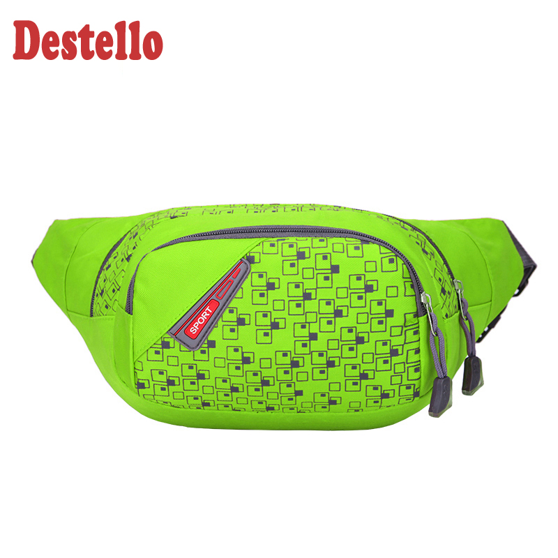 Fashion Casual Unisex Travel Waist Pack Waist Packs Bag Women Waist Packs Belt Hot Sale Female Fanny Bag Waterproof Waist Bag