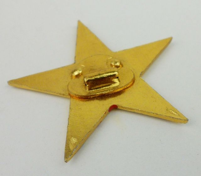 SURPLUS CHINESE PLA ARMY TYPE 50 HAT CAP BADGE Military Store