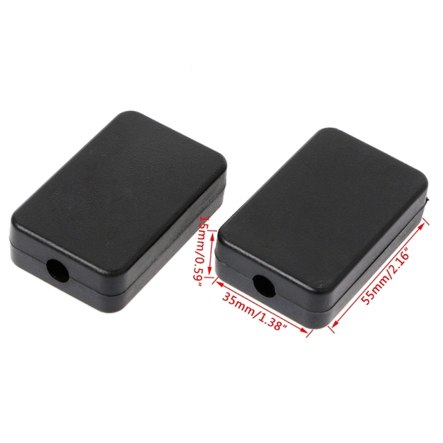 5 Pcs 55x35x15mm DIY Enclosure Instrument Case Plastic Electronic Project Box