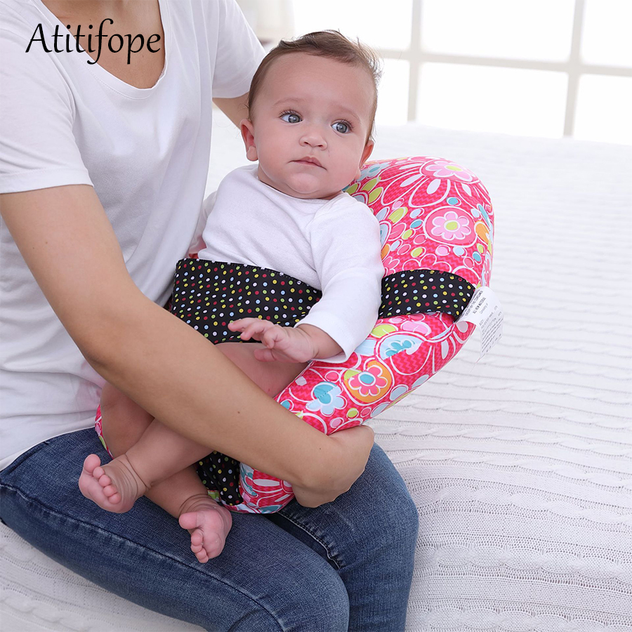 Baby Breastfeeding Seat Newborn Lounger With Built Travel Arm Nursing Pillows Safety Cushion