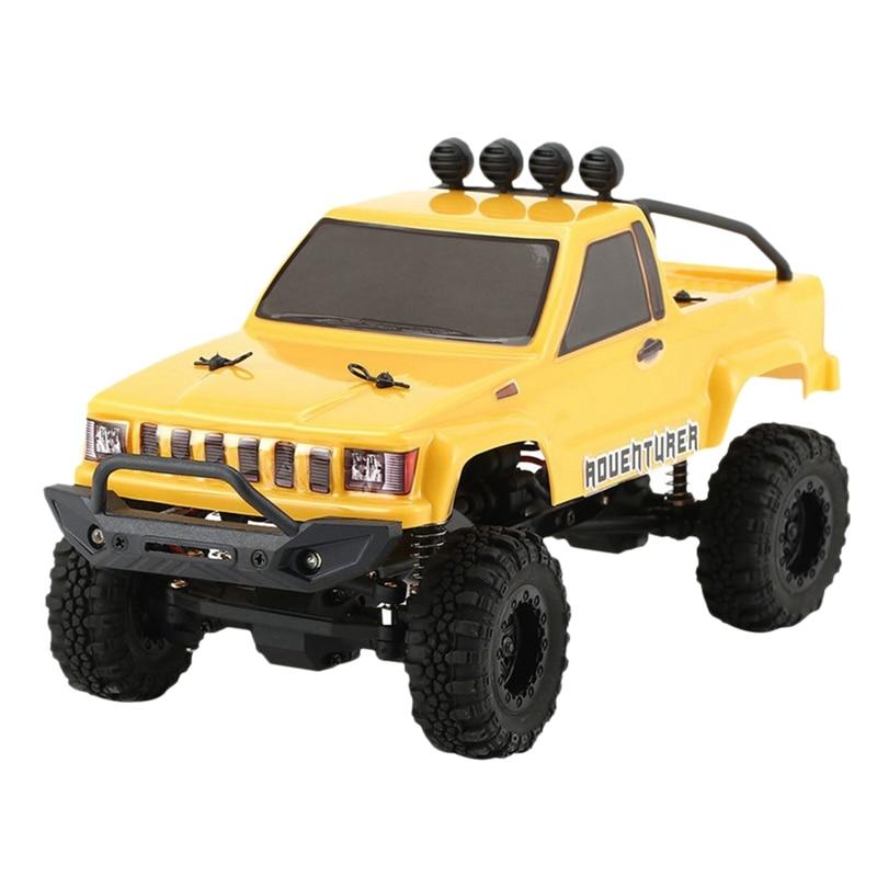 1/24 Mini Simulation Climbing Off-Road Truck Rtr Adult Alloy Vehicle Model