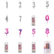 Decoration-Supplies Number Birthday-Cake-Candles Candle-Party Wedding-Scene 0-9-Height