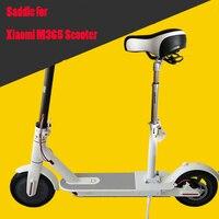Scooter elétrico skate assento dobrável sela para xiaomi mijia m365 scooter elétrico cadeira altura ajustável com assento pára choques|scooter bumpers|saddle seat|saddle seat chair -