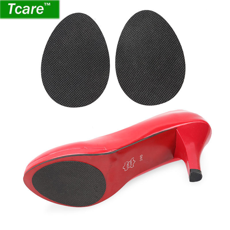 2pcs Shoe Non Slip Pads Sole Protector Women High Heels Cushion Forefoot Sticker