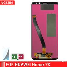 5.93'' For Huawei Honor 7X Display BND L21 L22 L24 Lcd With Touch Screen Digitizer Assembly with Free Tempered Glass