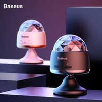 Baseus Car Interior Decorative Lamp Ambient Light For Auto KTV Home Bar Car Colorful Atmosphere Lamp Sound Control Effect Lights