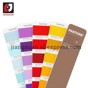 "Image 3 - PANTONE 2 ספרים/סט ארה""ב TPX/TPG FHIP110N 2310 סוגים של צבע מדריך אופנה פנים טקסטיל בגד"