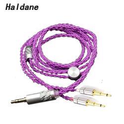 Haldane HIFI 2.5/3.5/4.4/XLR zbalansowany 7N OCC posrebrzany kabel do aktualizacji słuchawek do OPPO PM-1 PM-2 HE1000 400S 560 słuchawki