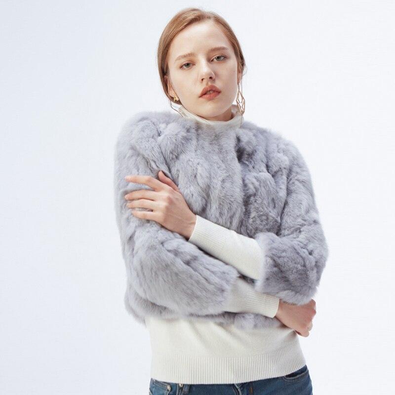 H610ada5c335f42e5b4062b4d9c3ec673S ETHEL ANDERSON 100% Real Rabbit Fur Women's Real Rabbit Fur Coat/Jacket Outwear Beauty Purple Color XXXL Size Coat