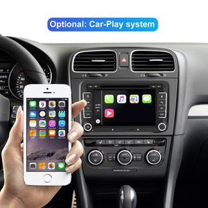 Image 3 - Isudar lecteur multimédia, avec DSP, lecteur DVD, avec GPS, pour VW/Volkswagen POLO, Golf, Skoda, Octavia, Seat Leon, Android 10, 2 Din