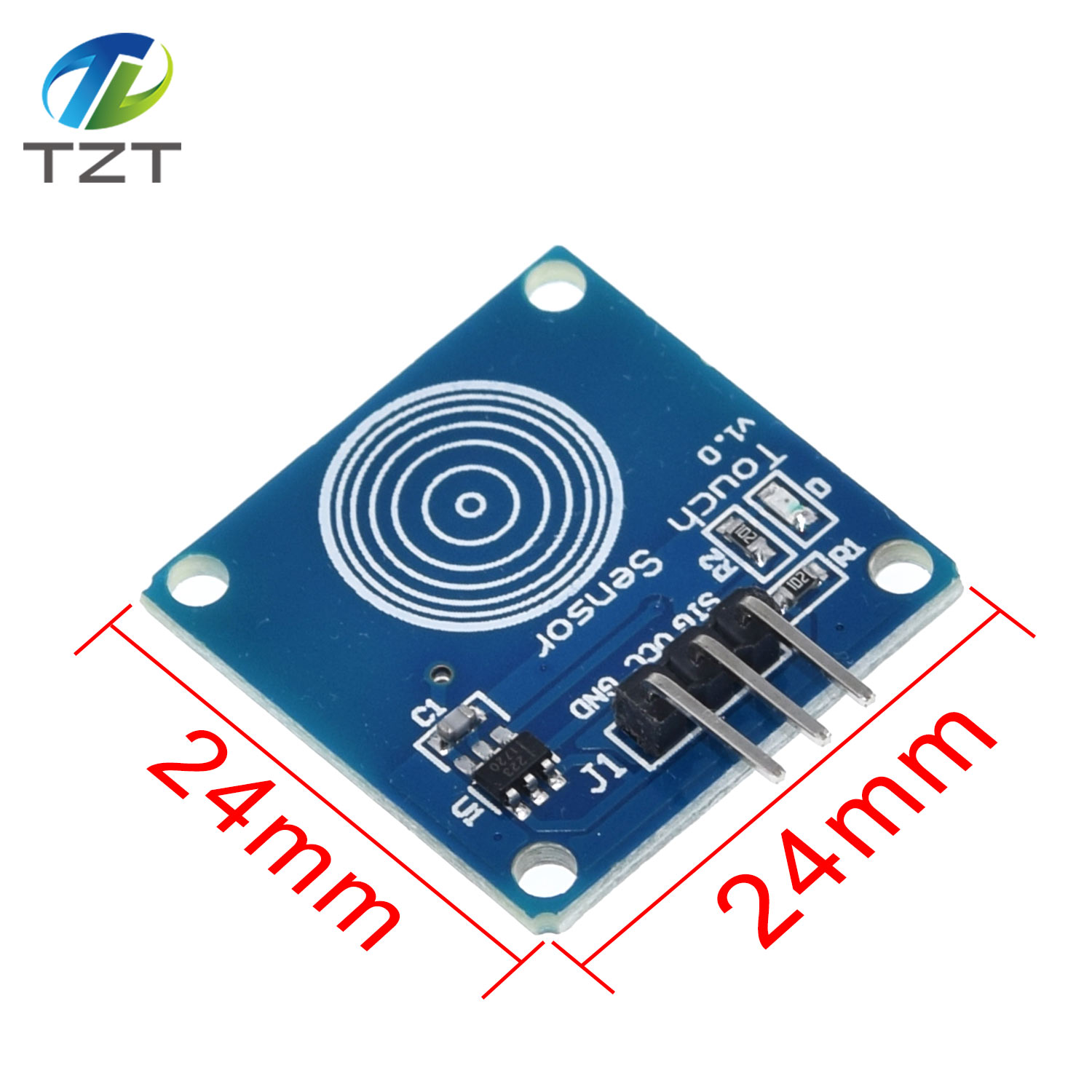 10pcs TTP223B Switch Module Digital Touch Sensor Capacitive Touch for Arduino