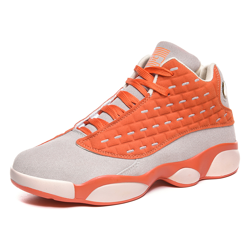 EPJKE Brand Man High-top Basketball Shoes Men's Cushioning Light Basketball Sneakers Keep warm Outdoor Sports High Quality Shoes