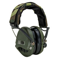 Tactical MSA Airsoft Sordin Headset No Communication Electronic Protective Earmuff Noise Reduction Shooting Tactical Headset