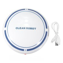 цена на Automatic USB Rechargeable Smart Robot Vacuum Floor Cleaner Sweeping Suction Household Low Noise Dust Collector