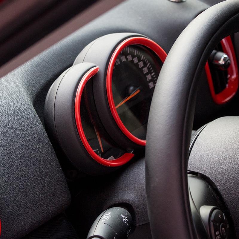Car Interior Trim Accessories Steering Wheel Decoration Cover Car-styling For MINI Cooper S F54 F55 F56 F60 Clubman Countryman