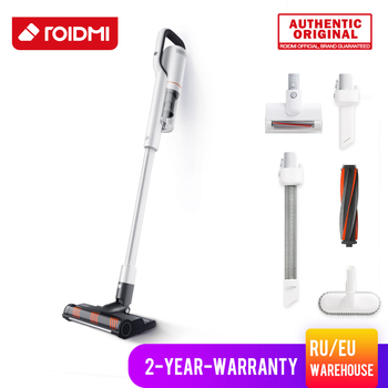 цена на *ORIGINAL* ROIDMI NEX Handheld Vacuum Cleaner for Home Powerful Cordless Upright Smart APP Mop Vaccum Cleaner eu warehouse