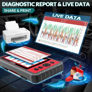 Image 4 - Lancio X431 CRP909E obd2 scanner strumento diagnostico sistema completo + Airbag SAS TPMS EPB IMMO 15 funzioni di ripristino lettore di codice CRP909X