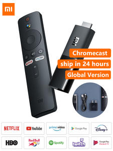 Mi-Tv-Stick Dual-Decoding Netflix Chromecast Dolby Android Tv Global-Version Xiaomi HD
