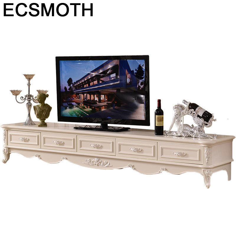 Tele Moderne Table Soporte Para De Entertainment Center European Wood Monitor Mueble Living Room Furniture Meuble Tv Stand