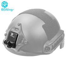 Helmet Fix Mount Base Holder Adapter for Gopro Hero 8 7 6 1 2 3 + 4 5 Session Yi Sjcam Motorcycle Riding Climbing Racing Sports