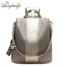 Mochila feminina 2020 nova moda escola mochila mochilas de viagem à prova doxford água oxford pano sacos de ombro casuais