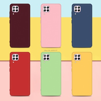 Soft TPU Silicone Cover For Honor 8X 9 10 20 P40 Lite Fundas Capas Candy Colorful Phone Cases For Huawei P10 P20 P30 P40 Pro 1