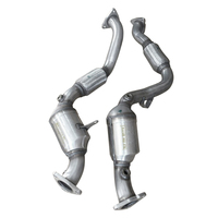 New Front Pair Catalytic Converter for Porsche Cayenne 3.6L V6 2008 2010 Oem#955113033AX 95511303302 955113034AX 95511303402|Catalytic Converters| |  -