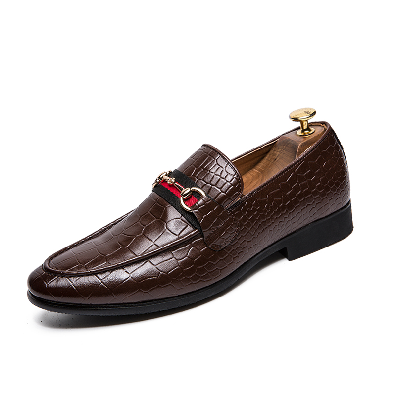 Men Moccasin Dress Loafers Casual Shoes Slip-ons Driving moccasin Sophisticated look classic Formal leather shoes
